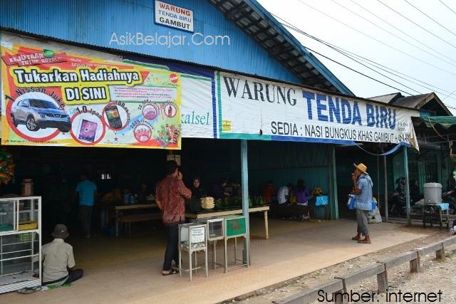 2 Tempat Kuliner di Kec. Gambut yang Layak Anda Coba