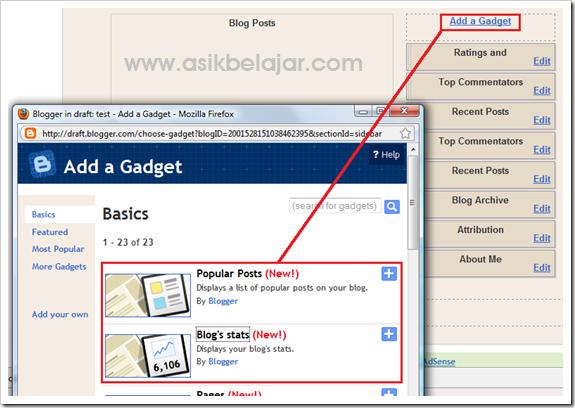 2 Hal yang Harus Dipertimbangkan Dalam Pemasangan Widget Blog